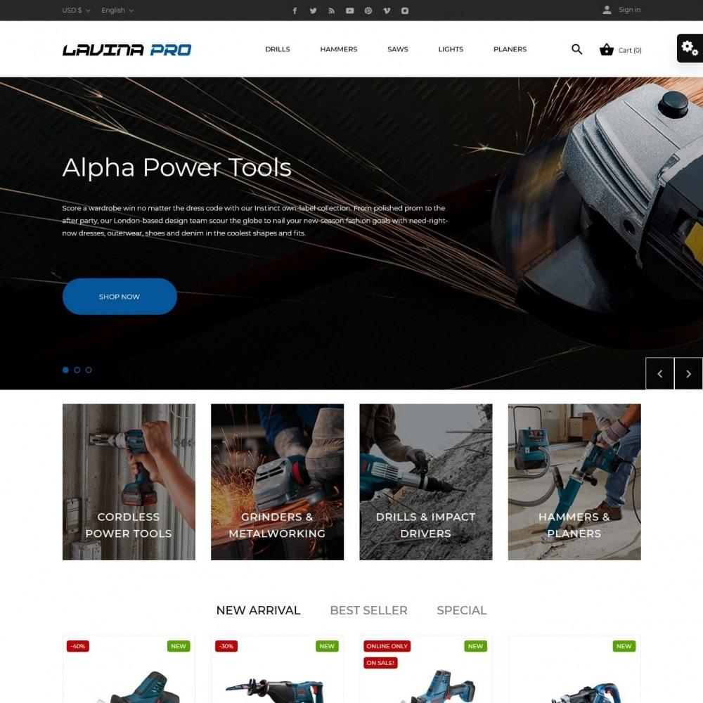theme - Elektronik & High Tech - Lavina pro - 2