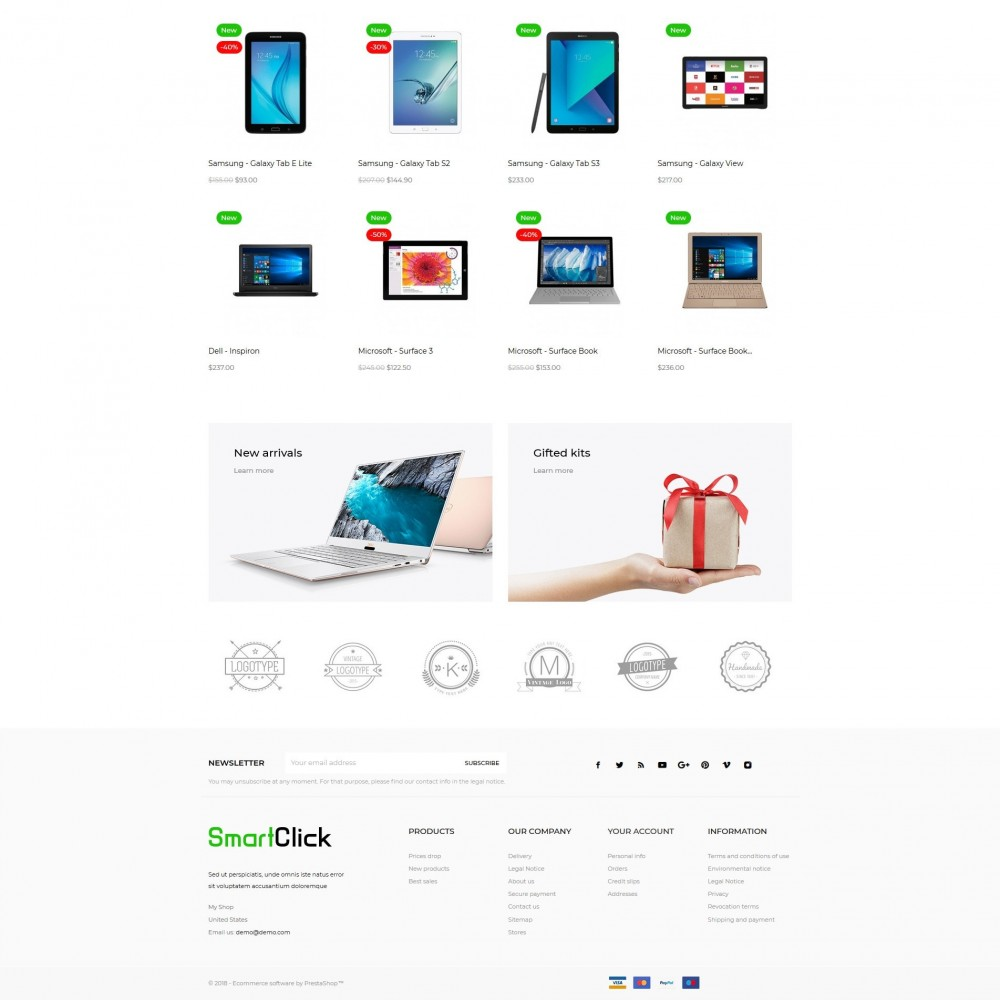 theme - Elektronika & High Tech - SmartClick - High-tech Shop - 3