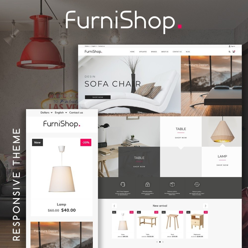 theme - Casa & Giardino - FurniShop - 1