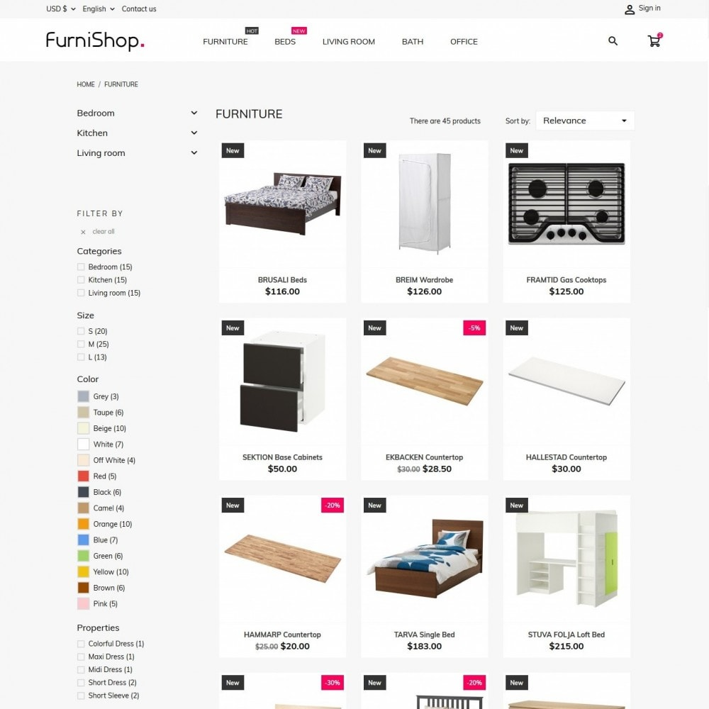 theme - Casa & Giardino - FurniShop - 5