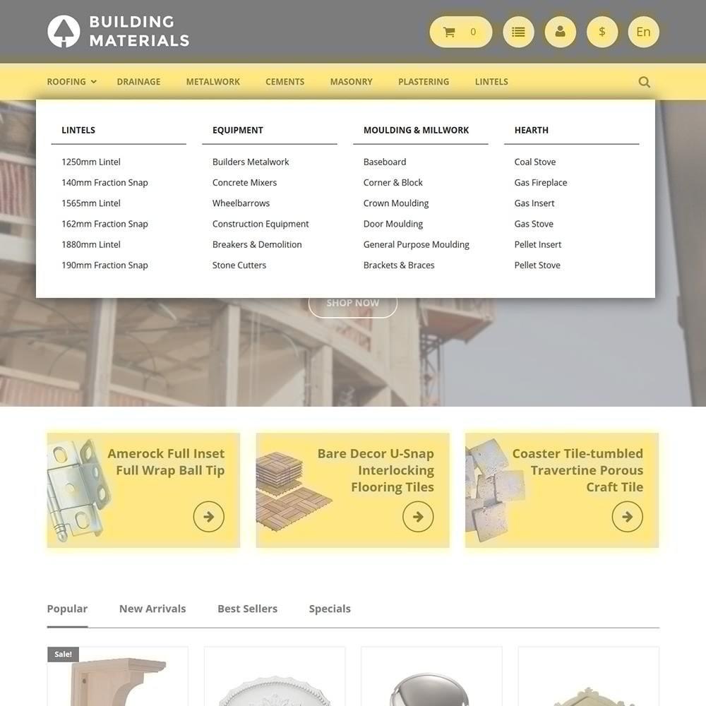 theme - Huis & Buitenleven - Building Materials - Building Store - 4