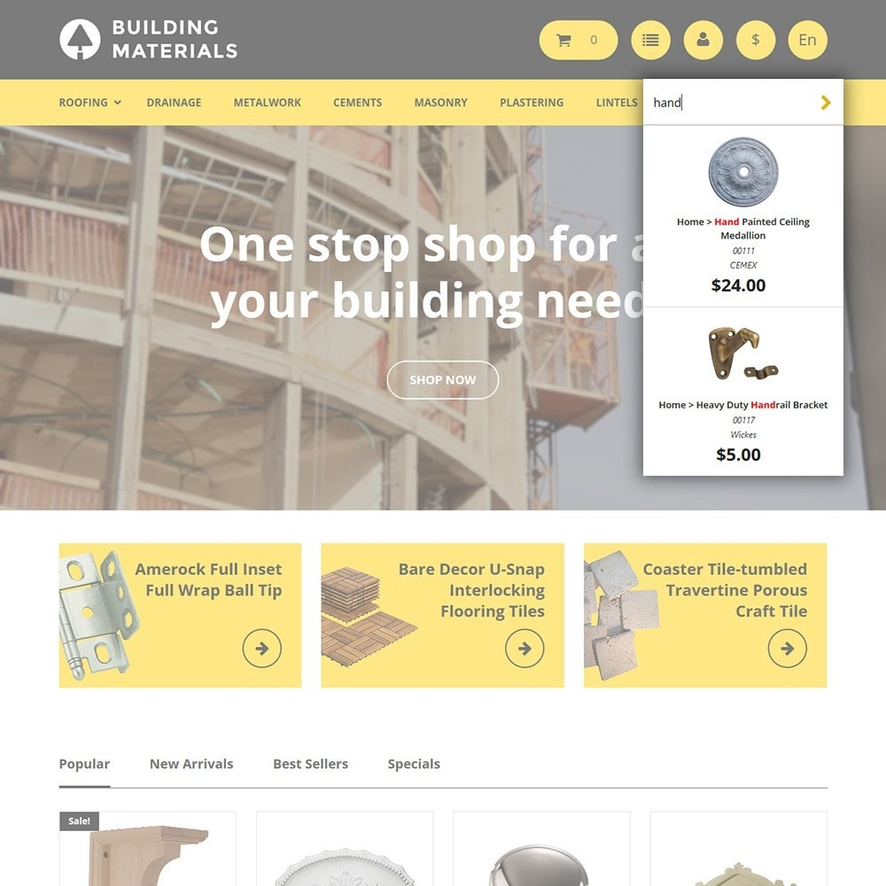theme - Home & Garden - Building Materials - Building Store - 6