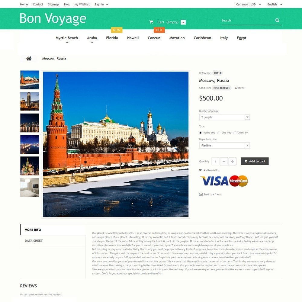 theme - Sports, Activities & Travel - Bon Voyage - Travel Agency - 3