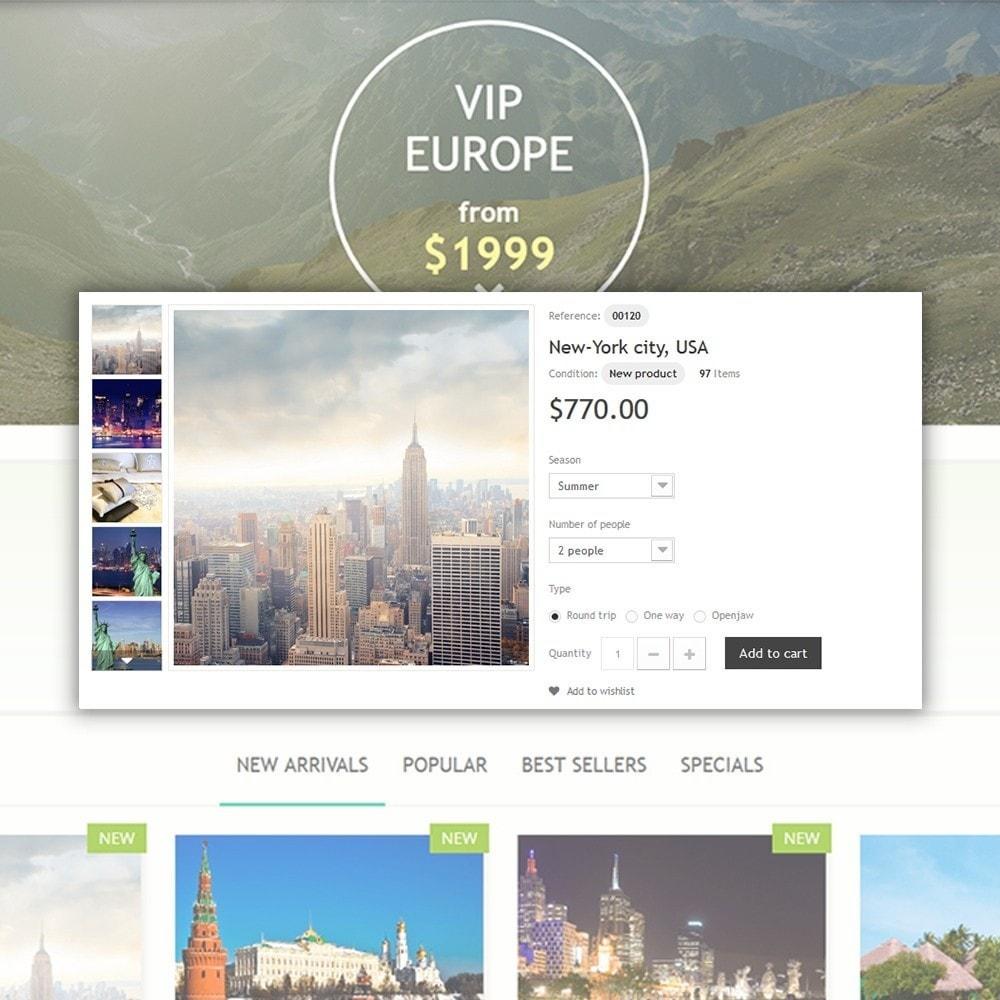 theme - Deportes, Actividades y Viajes - Bon Voyage - Travel Agency - 4
