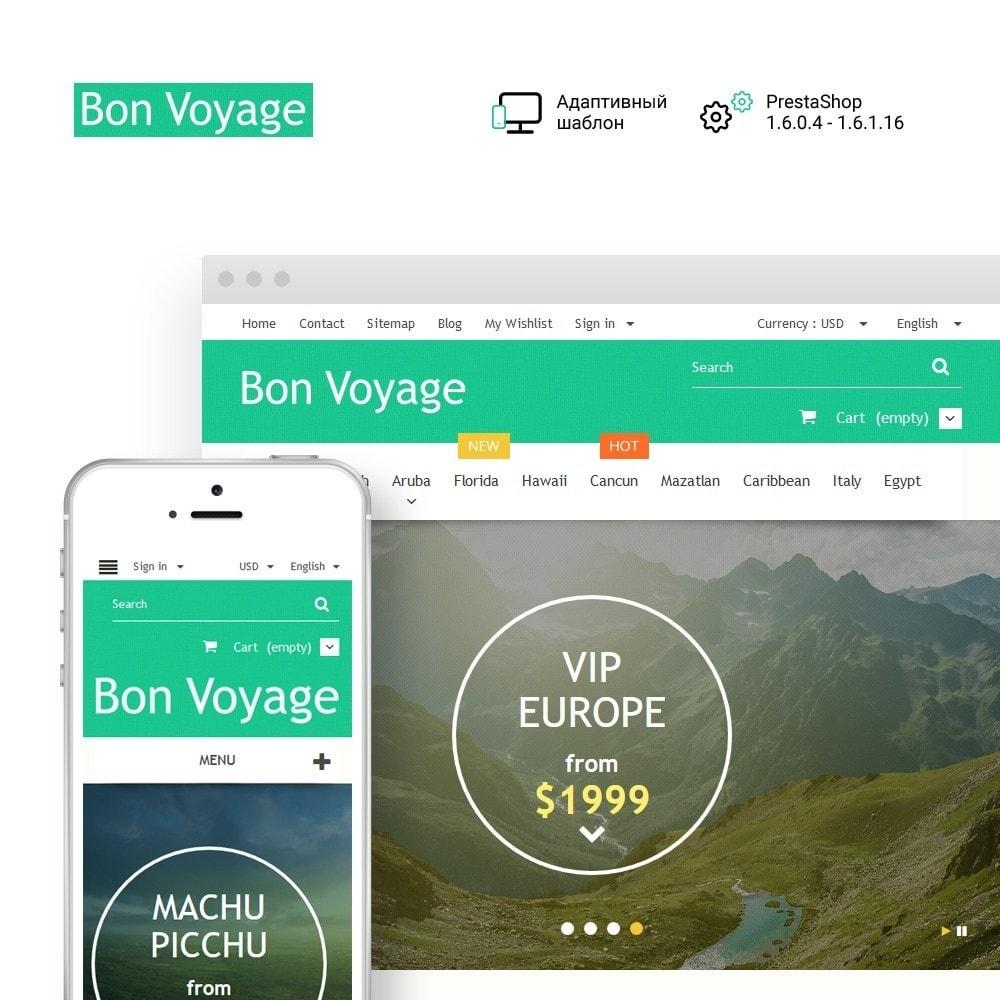 theme - Спорт и Путешествия - Bon Voyage - Travel Agency - 1