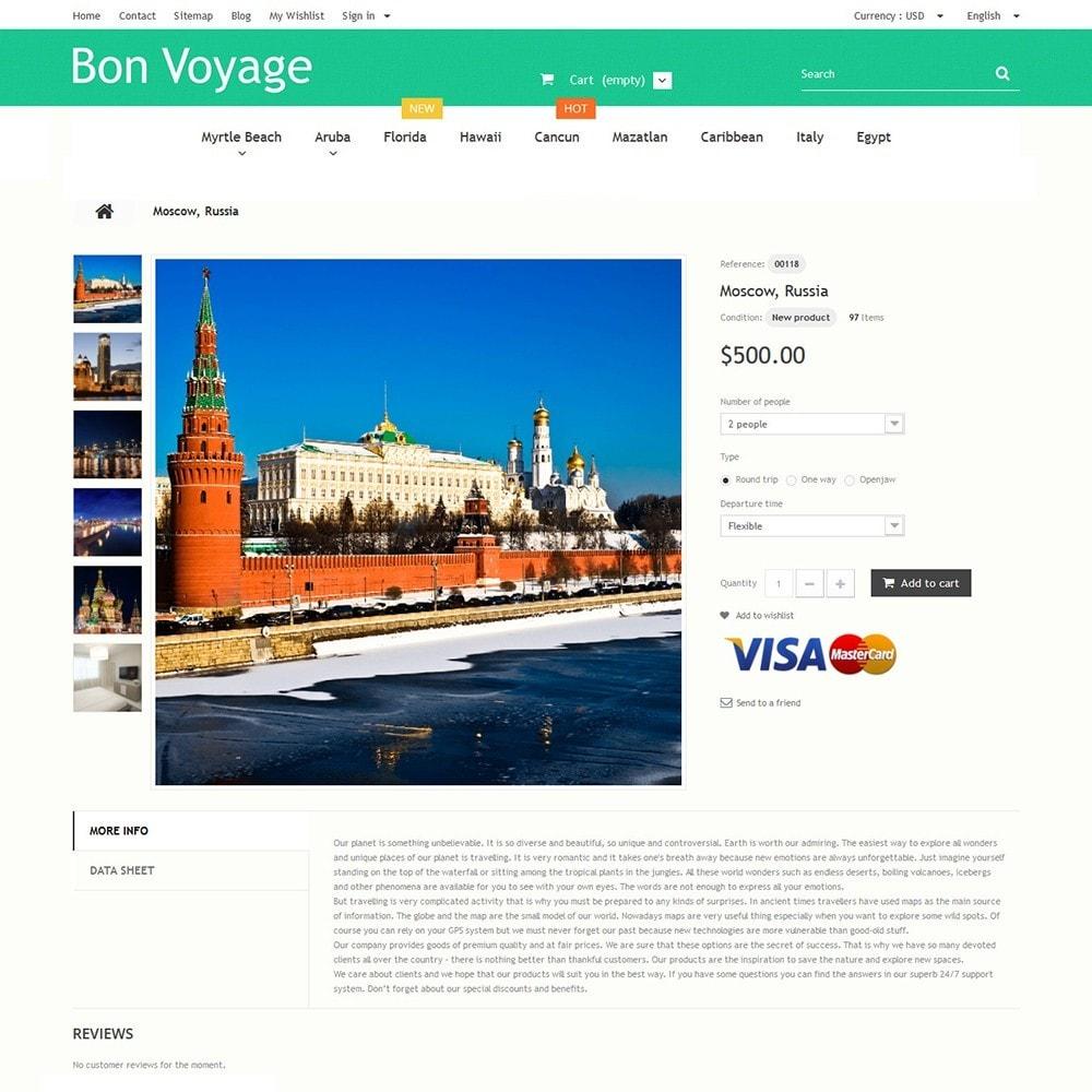 theme - Спорт и Путешествия - Bon Voyage - Travel Agency - 3