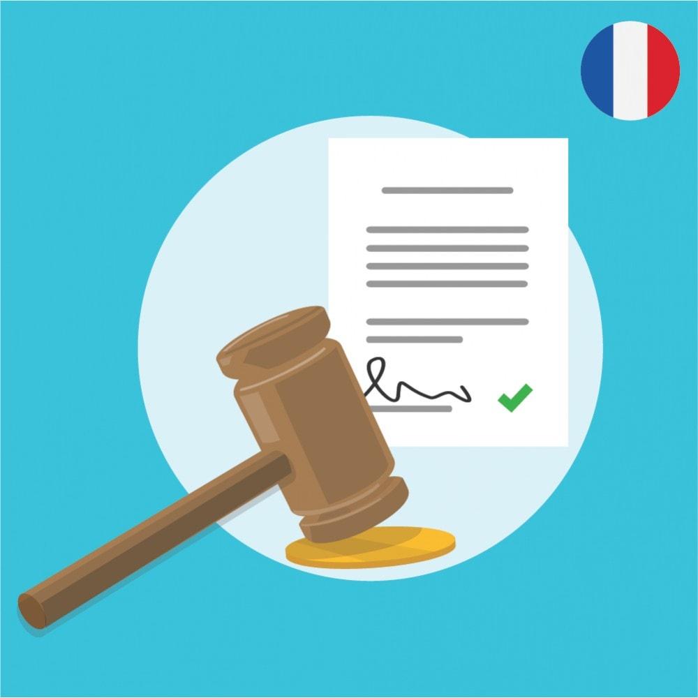 bundle - De aanbiedingen van dit moment: bespaar geld! - Custom Terms and Conditions for France + Cookie Policy Banner (Pack) - 3