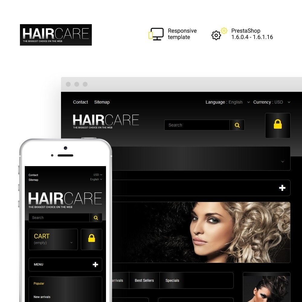 theme - Mode & Schoenen - HairCare - The Biggest Choice On The Web - 1