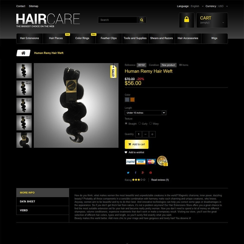 theme - Moda & Calzature - HairCare - The Biggest Choice On The Web - 3