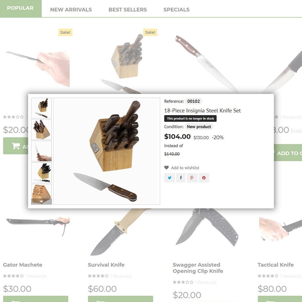 theme - Arte y Cultura - Knives - Housewares Store - 5