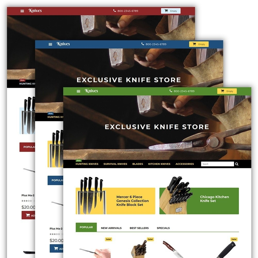theme - Искусство и Культура - Knives - Housewares Store - 2