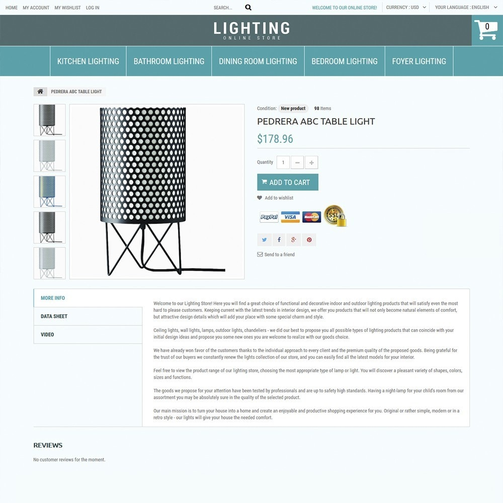 theme - Дом и сад - Lighting Online Store - Lighting & Electricity Store - 3
