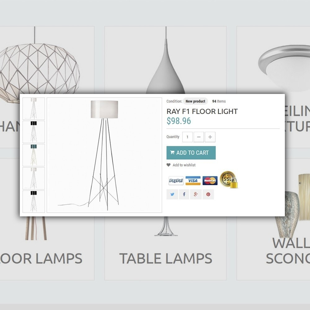 theme - Дом и сад - Lighting Online Store - Lighting & Electricity Store - 4
