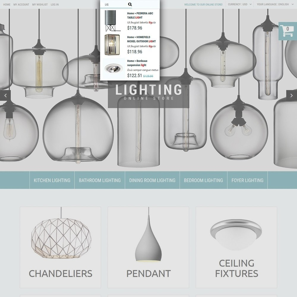 theme - Дом и сад - Lighting Online Store - Lighting & Electricity Store - 5