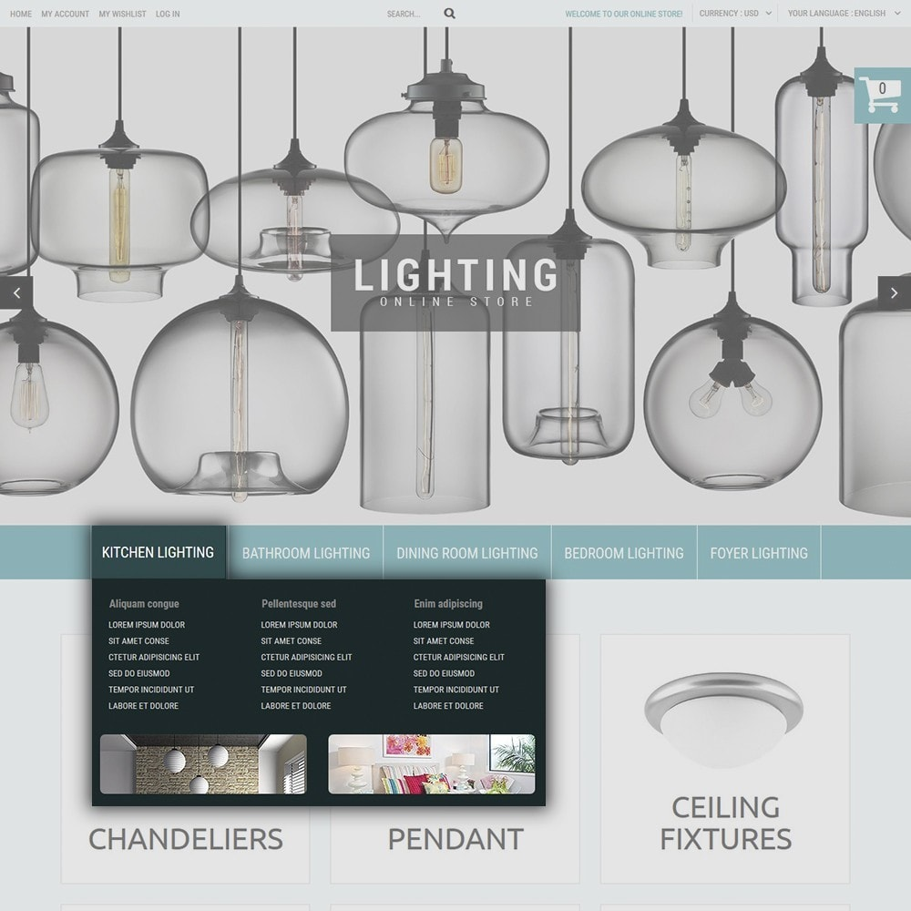 theme - Дом и сад - Lighting Online Store - Lighting & Electricity Store - 6