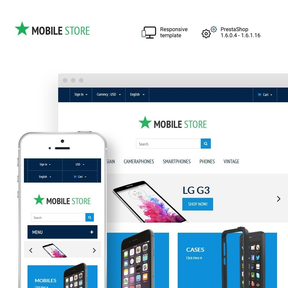 theme - Eletrônicos & High Tech - Mobile Store - 1