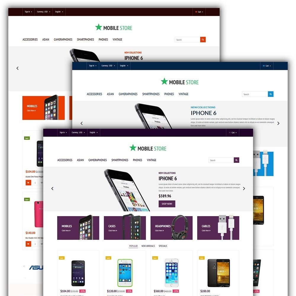 theme - Eletrônicos & High Tech - Mobile Store - 2