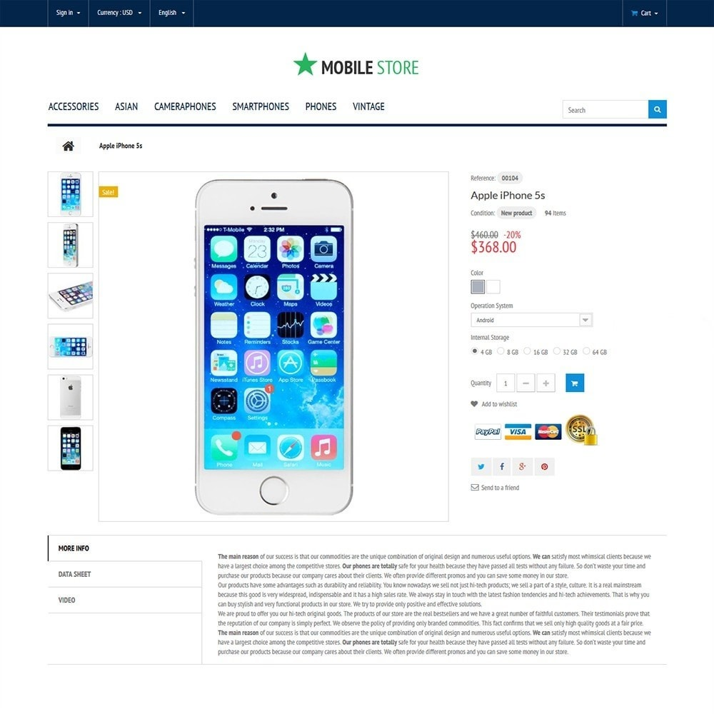 theme - Elektronik & High Tech - Mobile Store - 3