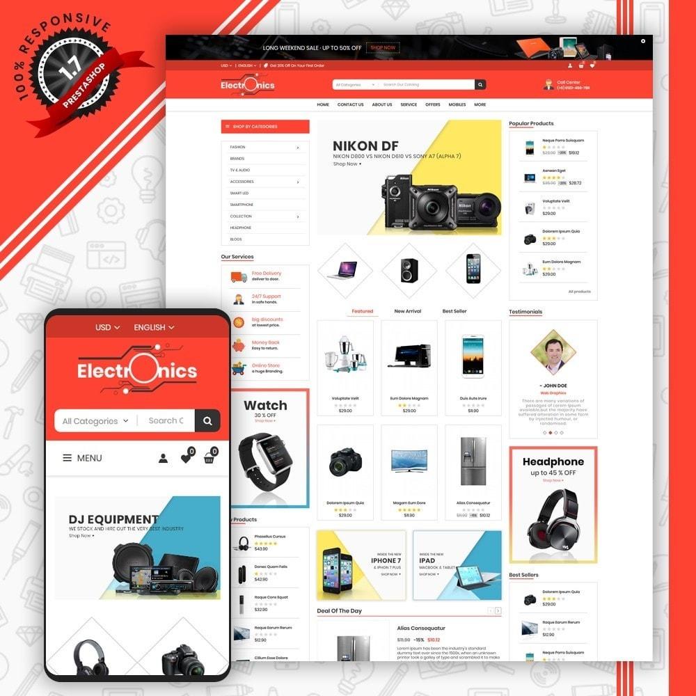 theme - Electrónica e High Tech - Mega Electronic Shop - 1