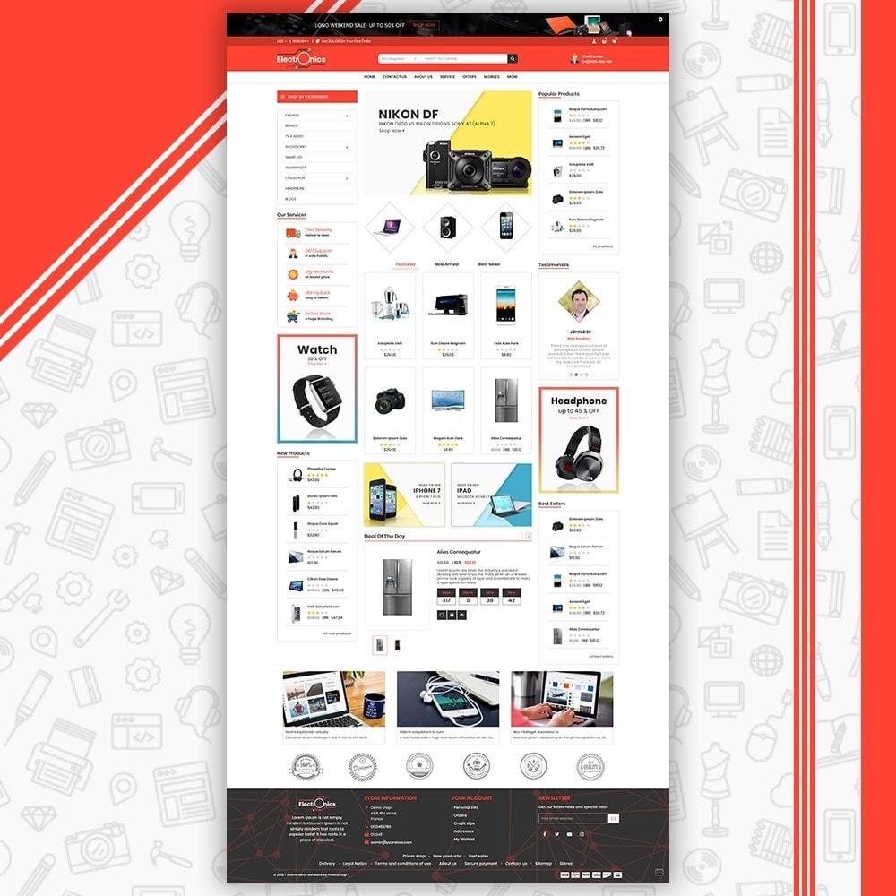 theme - Electrónica e High Tech - Mega Electronic Shop - 2