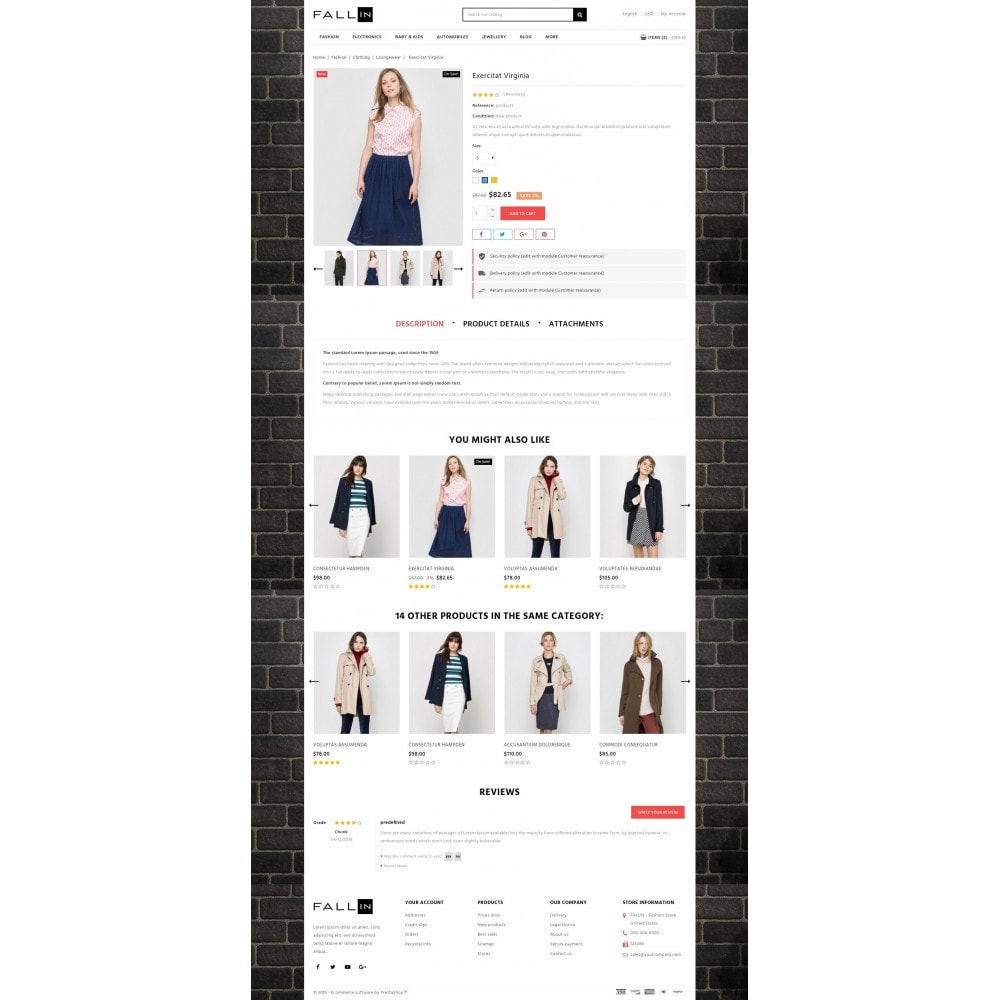 theme - Mode & Schuhe - Fallin Fashion Store - 5