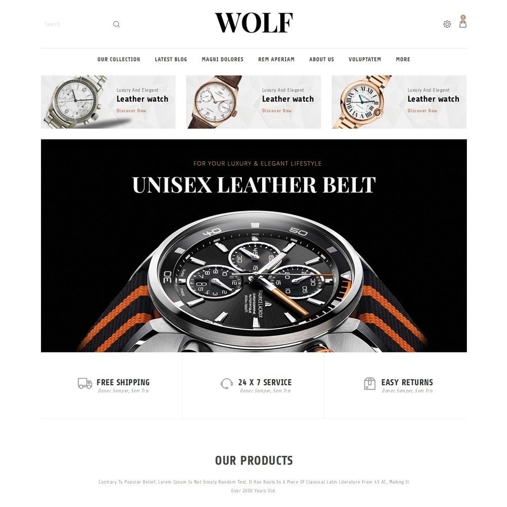 theme - Elettronica & High Tech - Wolf Watch Store - 2