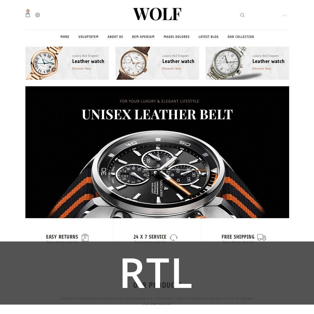 theme - Electronique & High Tech - Wolf Watch Store - 3