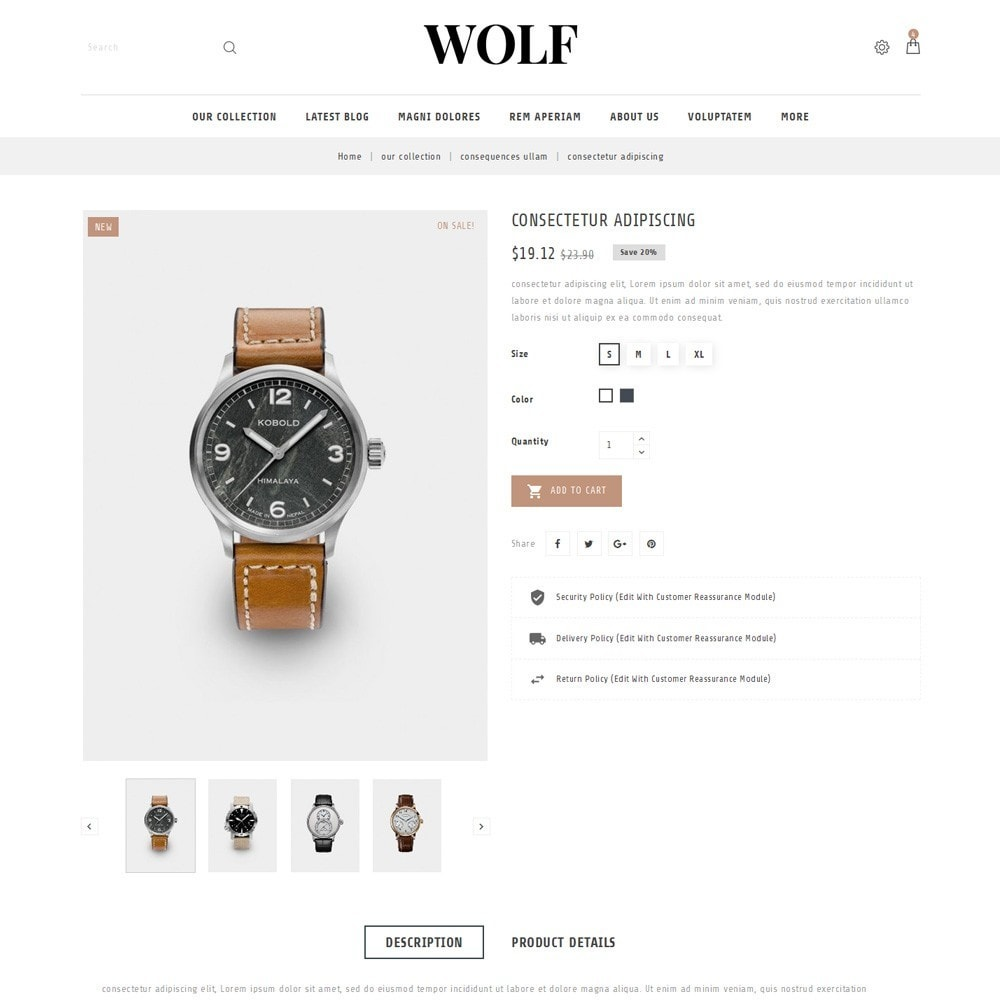 theme - Elettronica & High Tech - Wolf Watch Store - 6