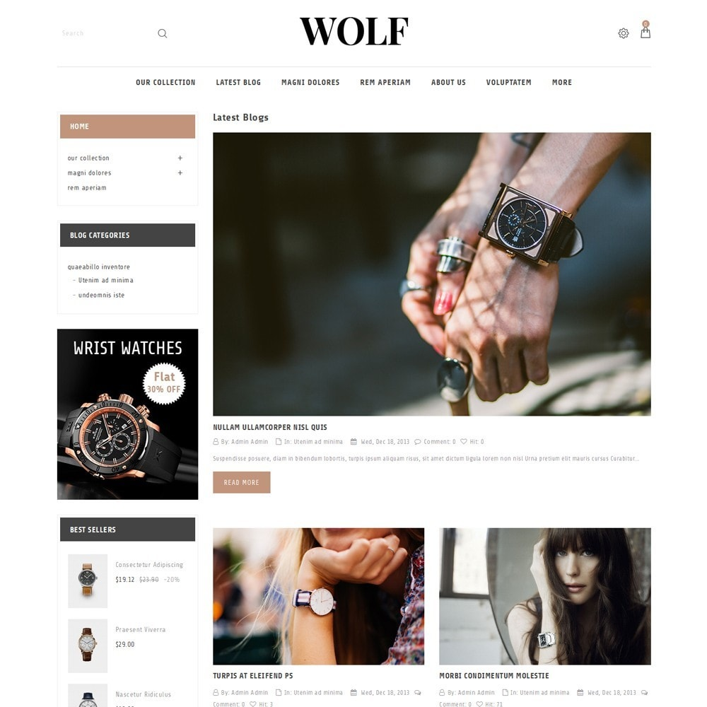 theme - Electronique & High Tech - Wolf Watch Store - 7