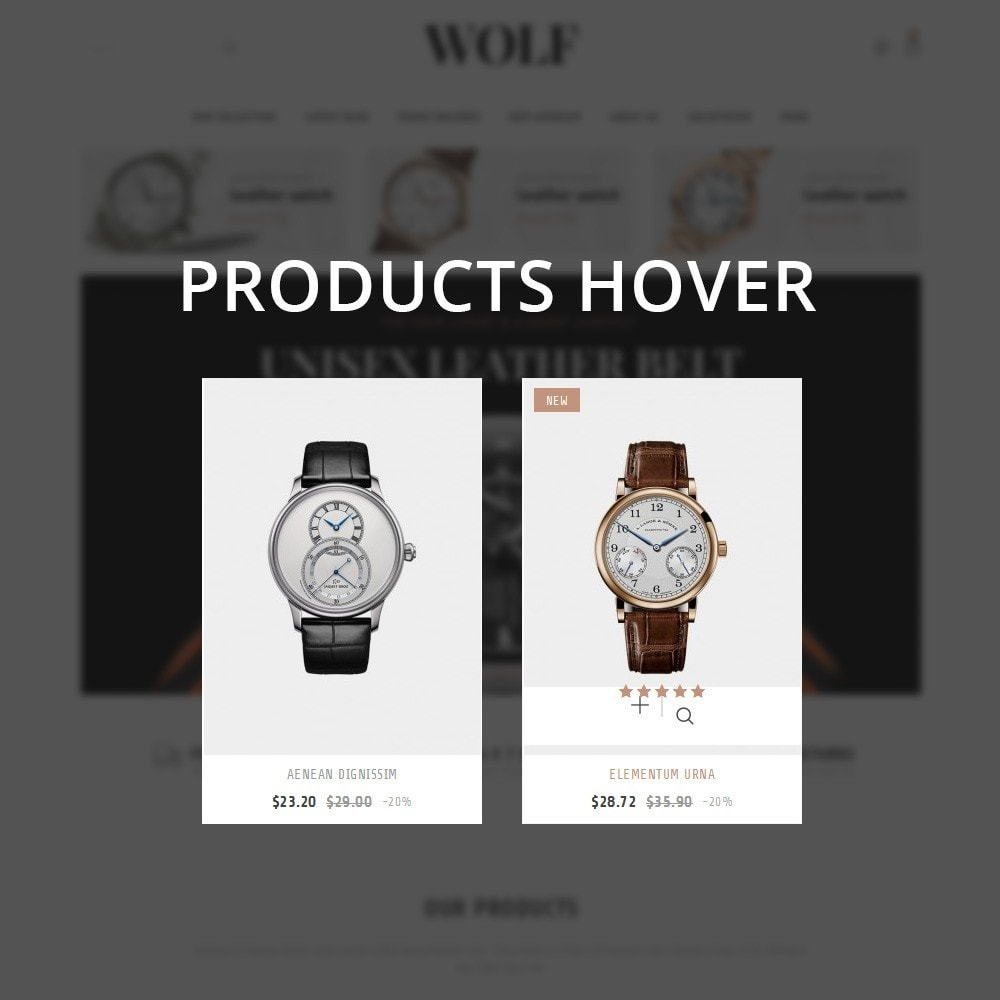 theme - Elettronica & High Tech - Wolf Watch Store - 10