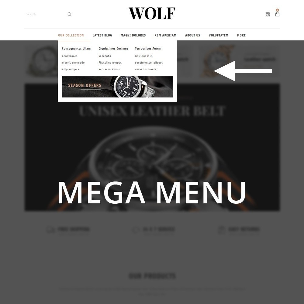 theme - Elettronica & High Tech - Wolf Watch Store - 11