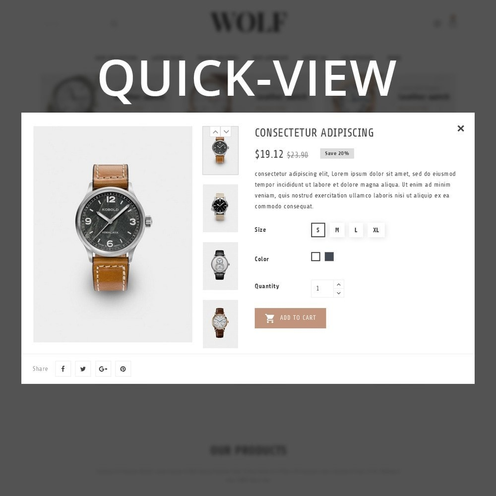 theme - Electronique & High Tech - Wolf Watch Store - 12