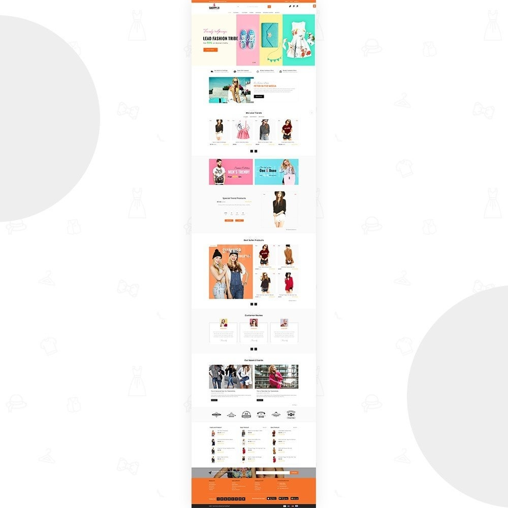 theme - Мода и обувь - Shoppy21 – Fashion Super Big Store - 2