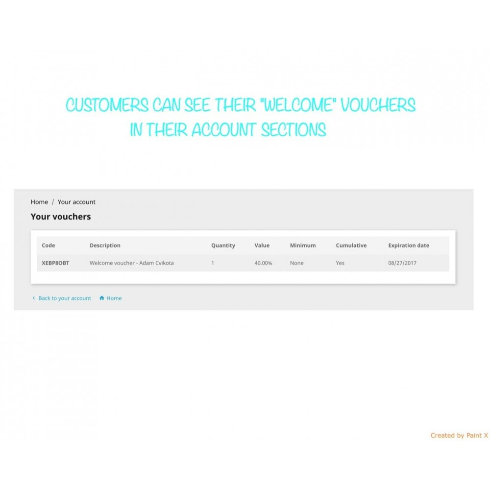module - Promotion & Geschenke - Auto Gutscheinversand nach Registrierung/Bestellung - 5