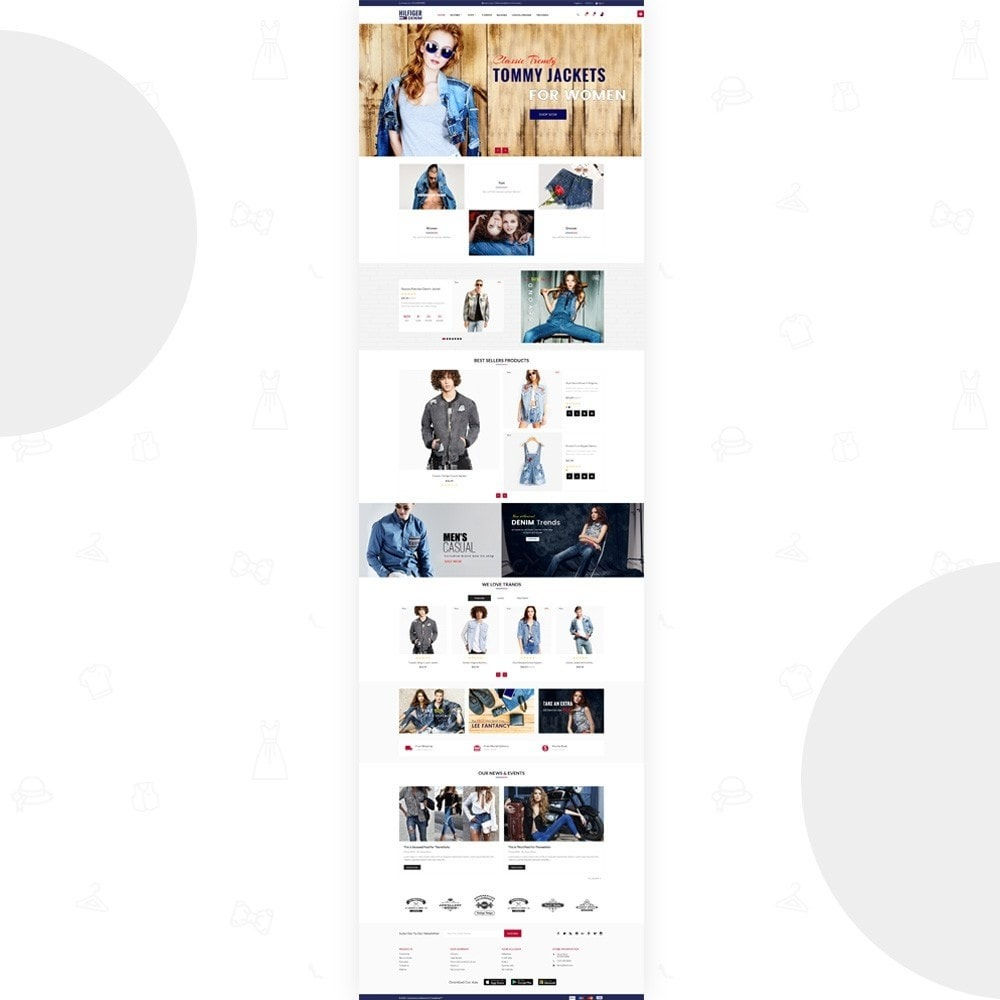 theme - Moda & Obuwie - Hilfiger Denim – Fashion/Cloth/Brand Super Store - 2