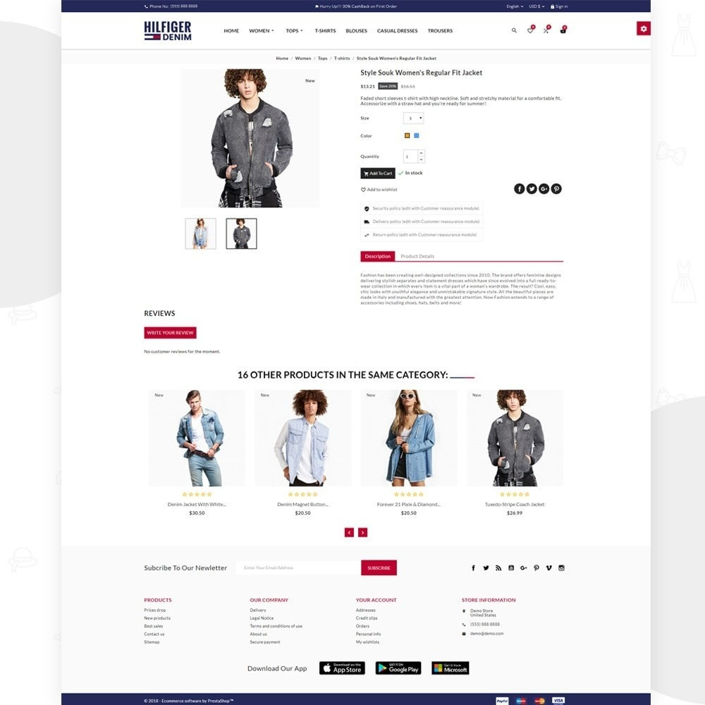 theme - Moda & Obuwie - Hilfiger Denim – Fashion/Cloth/Brand Super Store - 4