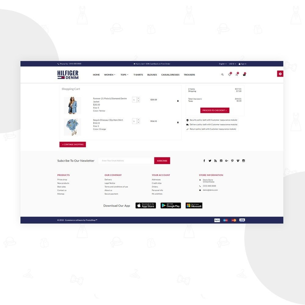 theme - Moda & Obuwie - Hilfiger Denim – Fashion/Cloth/Brand Super Store - 5