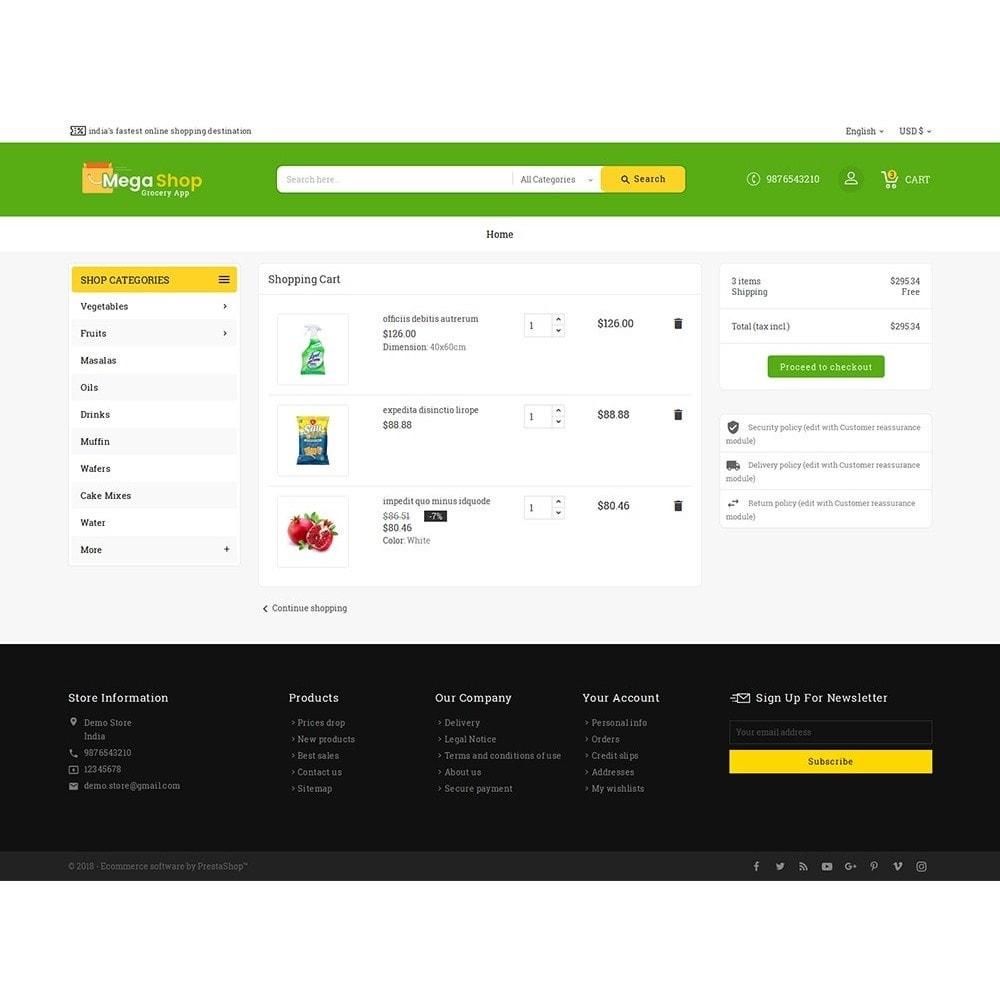 theme - Alimentos & Restaurantes - Mega Grocery Shop - 6