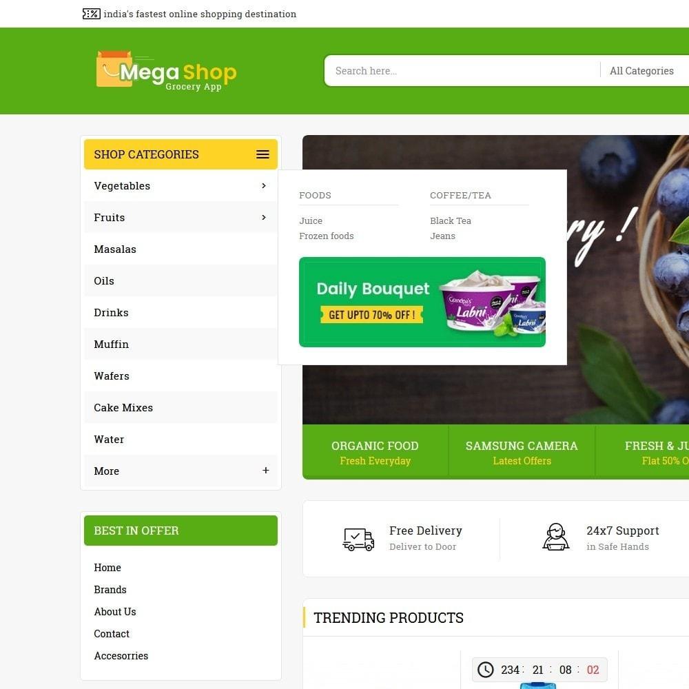 theme - Alimentos & Restaurantes - Mega Grocery Shop - 8