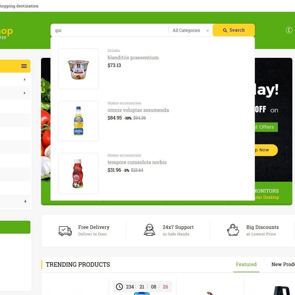 theme - Alimentos & Restaurantes - Mega Grocery Shop - 9