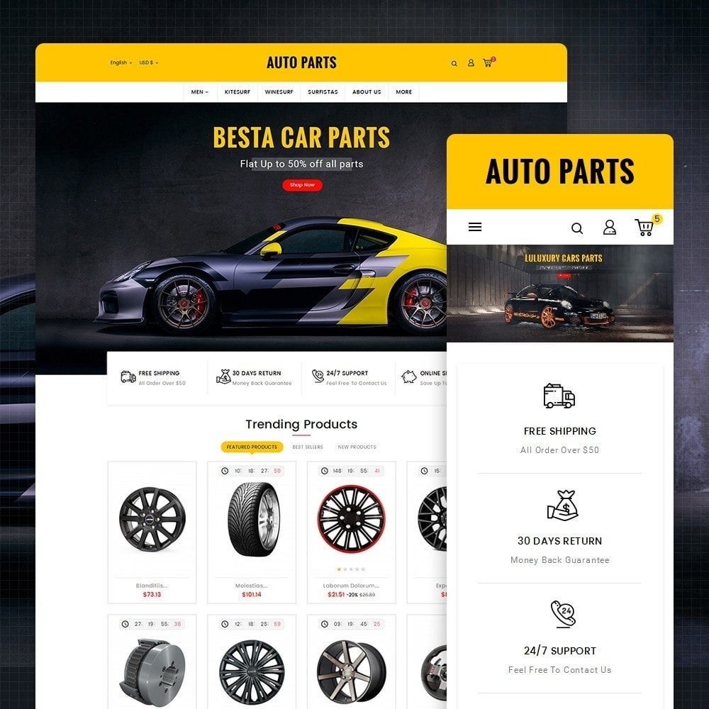 theme - Coches y Motos - Auto Equipment & Parts - 1