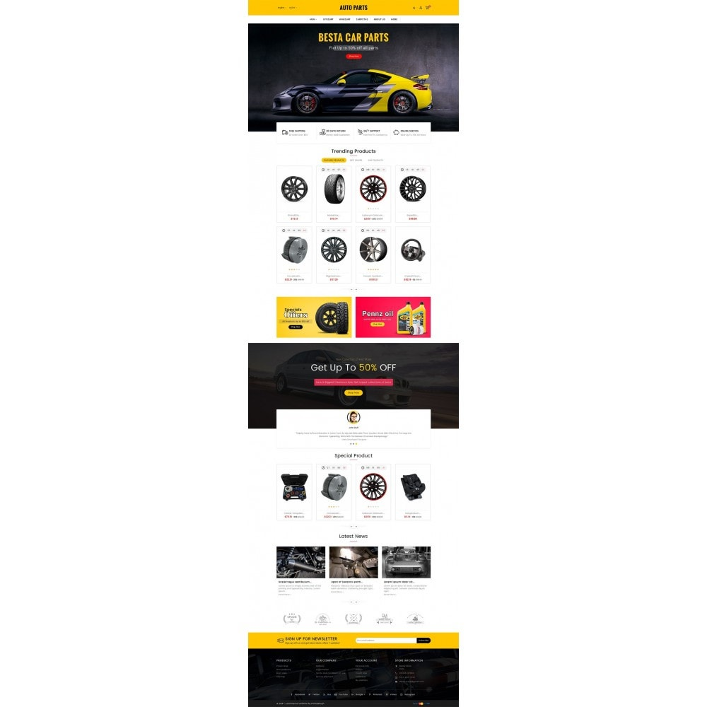 theme - Авто и Мото - Auto Equipment & Parts - 2