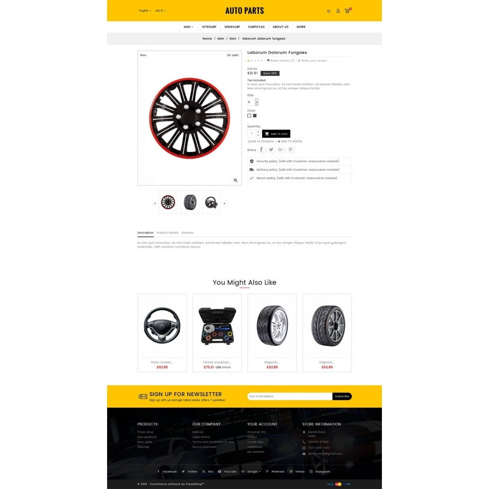 theme - Авто и Мото - Auto Equipment & Parts - 5