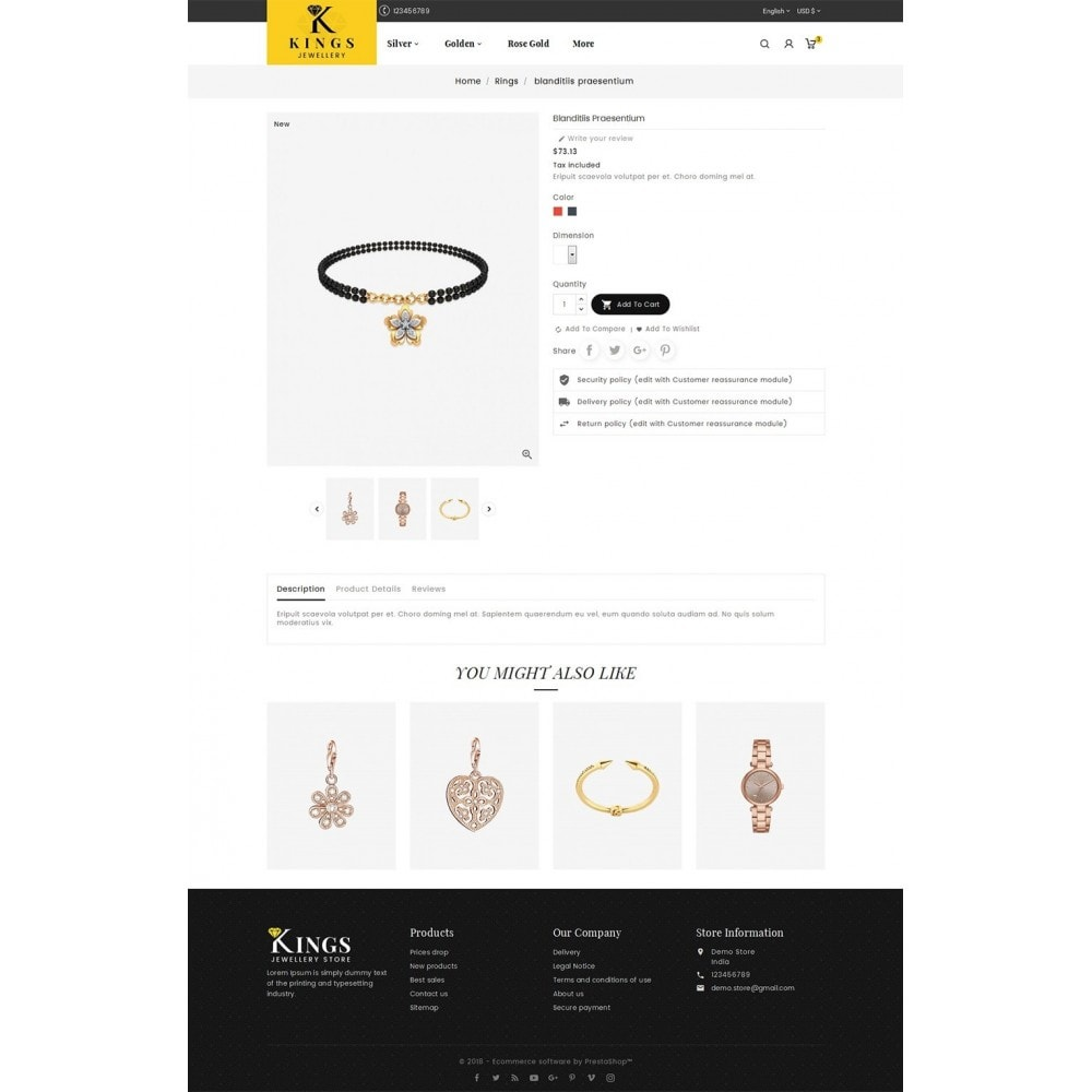 theme - Ювелирные изделия и Аксессуары - Kings Jewelry - 5