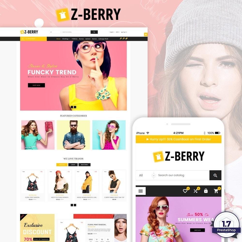 theme - Мода и обувь - Z Berry – Fashion and Big Super Store - 1
