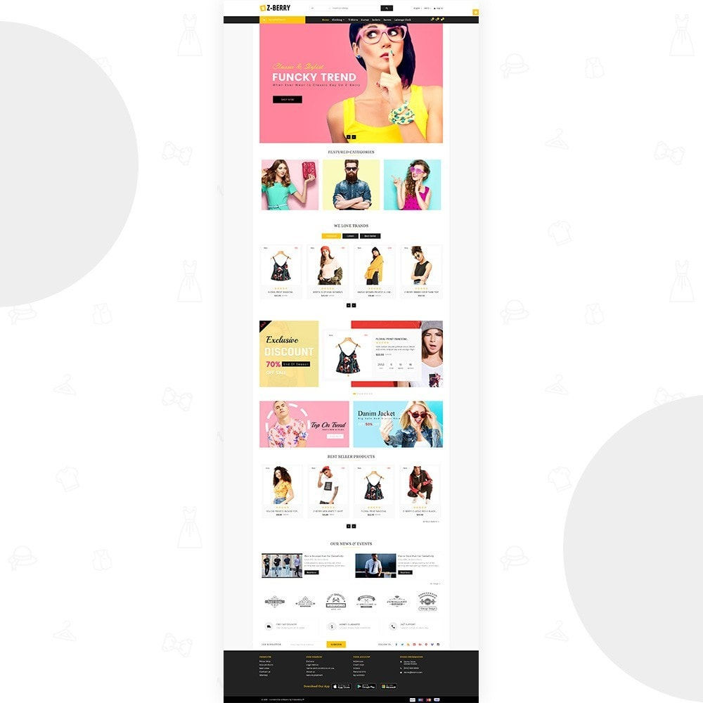theme - Мода и обувь - Z Berry – Fashion and Big Super Store - 2