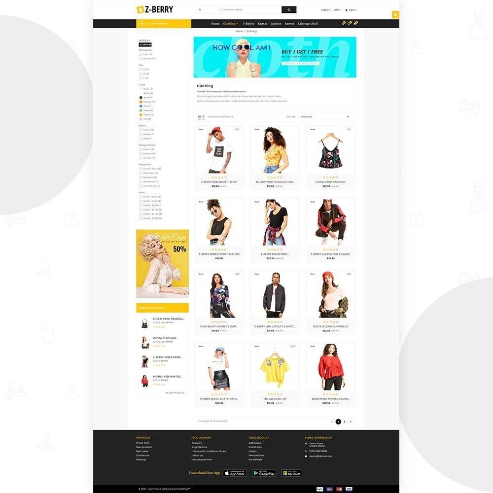 theme - Moda & Obuwie - Z Berry – Fashion and Big Super Store - 3