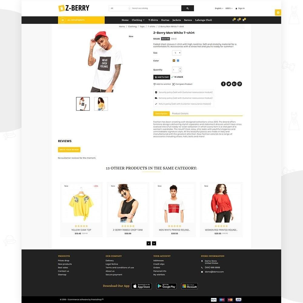 theme - Мода и обувь - Z Berry – Fashion and Big Super Store - 4