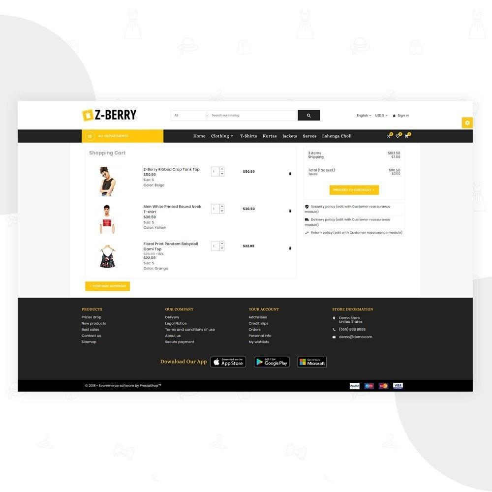 theme - Moda & Obuwie - Z Berry – Fashion and Big Super Store - 5