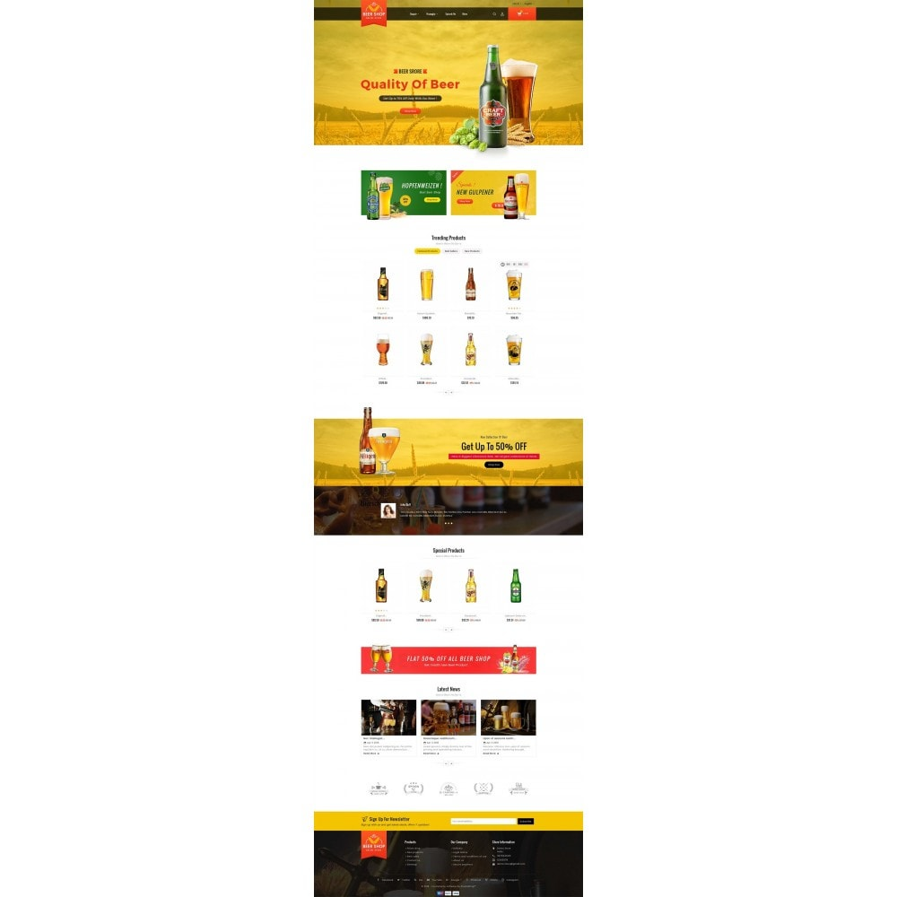 theme - Bebidas & Tabaco - Beer & Winery - 2